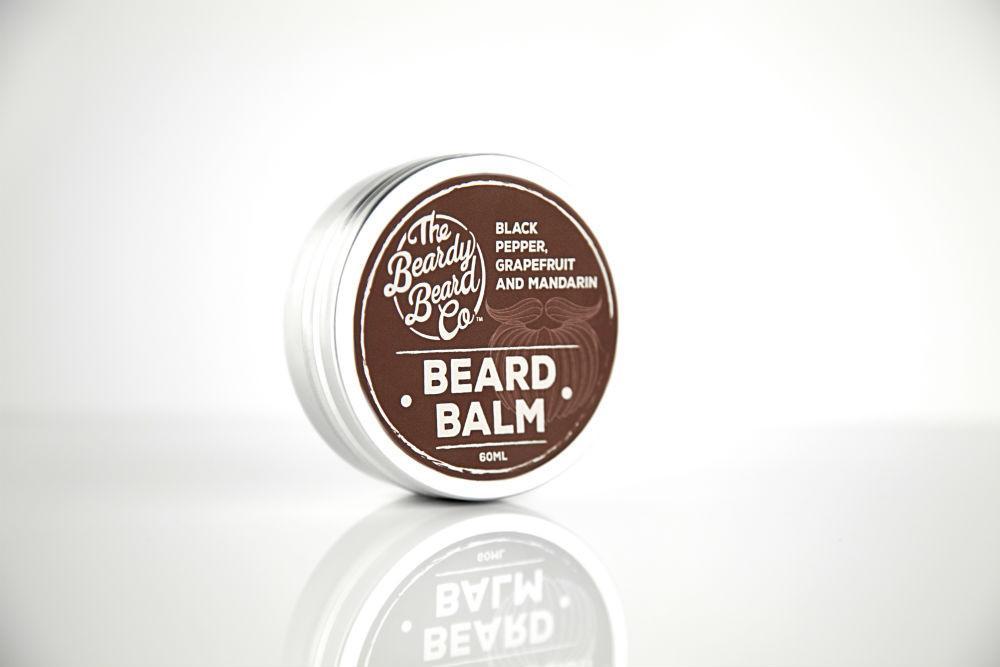Review of The Beardy Beard Co Black Pepper, Grapefruit & Mandarin Beard Balm