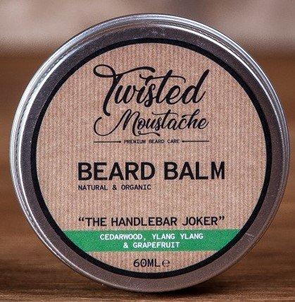 Review of the Twisted Moustache The Handlebar Joker Beard Balm