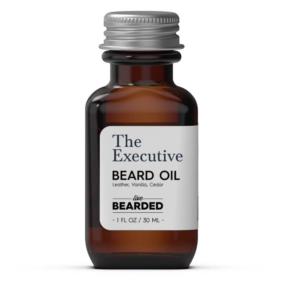 Review of the Live Bearded The Executive Beard Oil