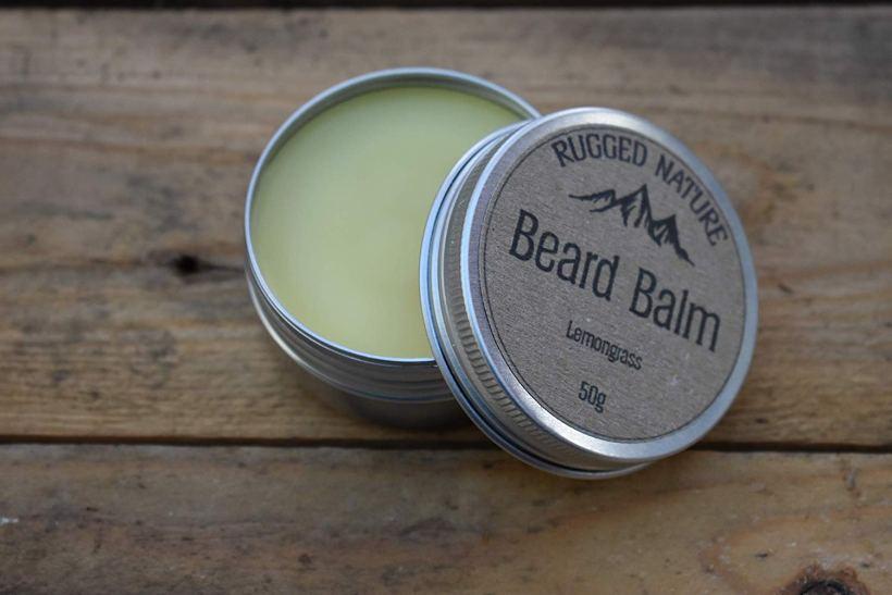 Rugged Nature Lemongrass Beard Balm