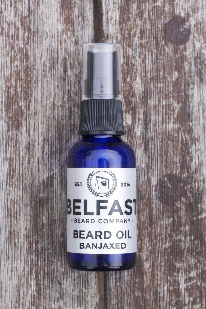 Review of the Belfast Beard Co Banjaxed Beard Oil