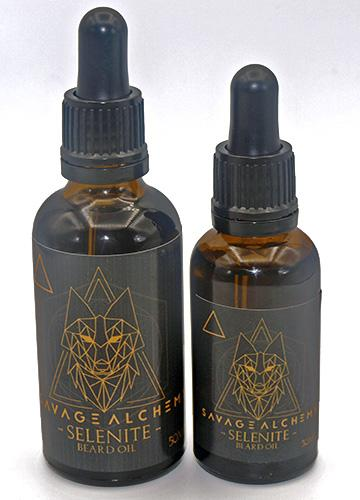 Savage Alchemy Selenite Beard Oil
