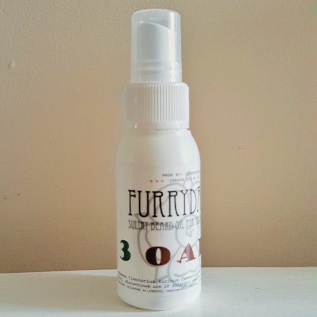 Review of the Superfurry Furrydandy 3 Oaks Beard Oil