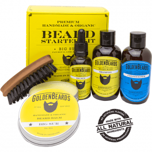 Golden Beards Big Sur Beard Starter Kit