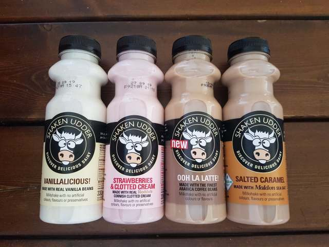 Review of the Shaken Udder Milkshakes