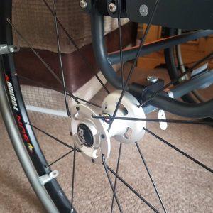 RGK Chrome wheelchair wheels