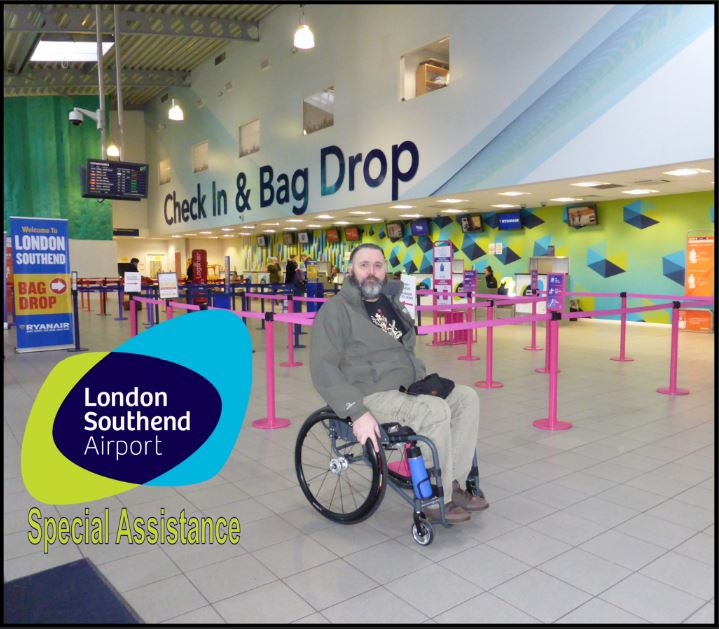 Flying from Southend Airport with a disability