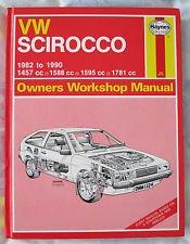 Haynes VW Scirocco Manual