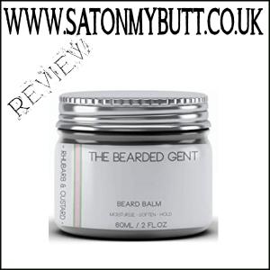 The Bearded Gent Rhubarb & Custard Beard Balm review