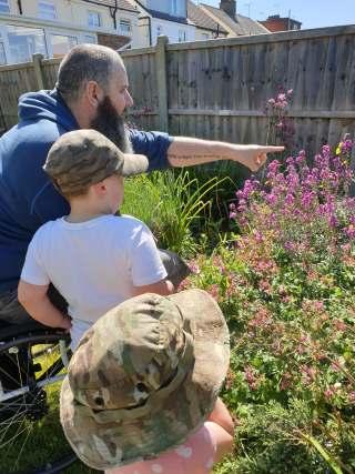 Gardening disability children