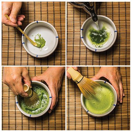 le the matcha japonais objet culinaire
