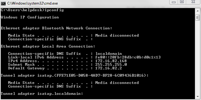 عنوان الأي بي IP
