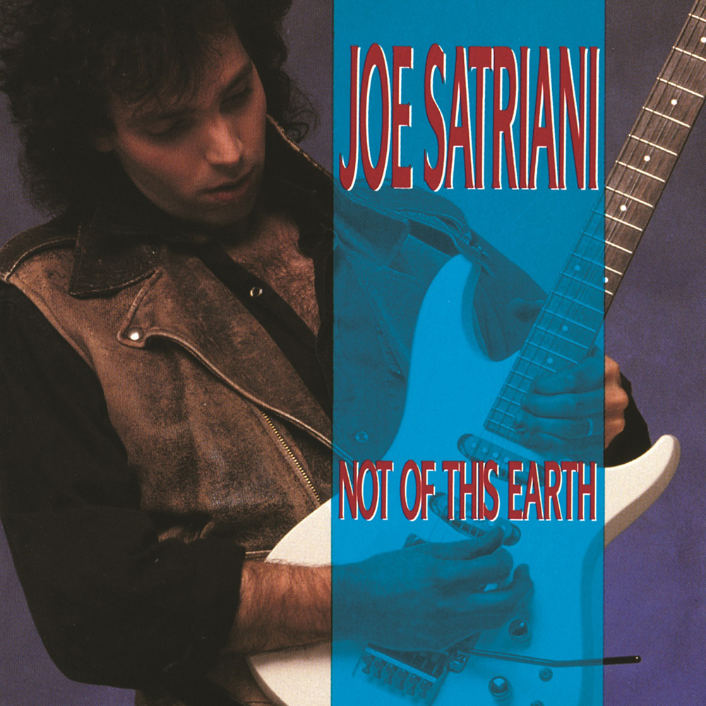 "Joe Satriani The first album ""Not From This Earth"" (1986)"