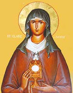 Icon of Clare of Assisi