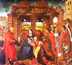 The Visit of the Three Kings, by Roger van der Weyden