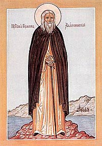 icon of Herman of Alaska