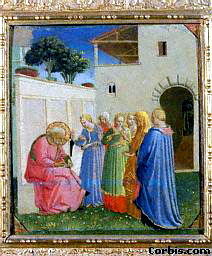 The Naming of John the Baptist, by Fra Angelico