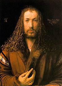 Albrecht Dürer, self-portrait
