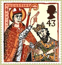 Augustine baptizing Ethelbert