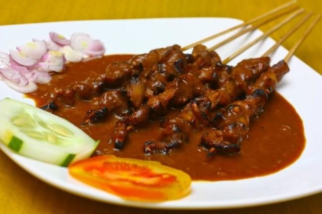 Makanan khas Indonesia, Sate
