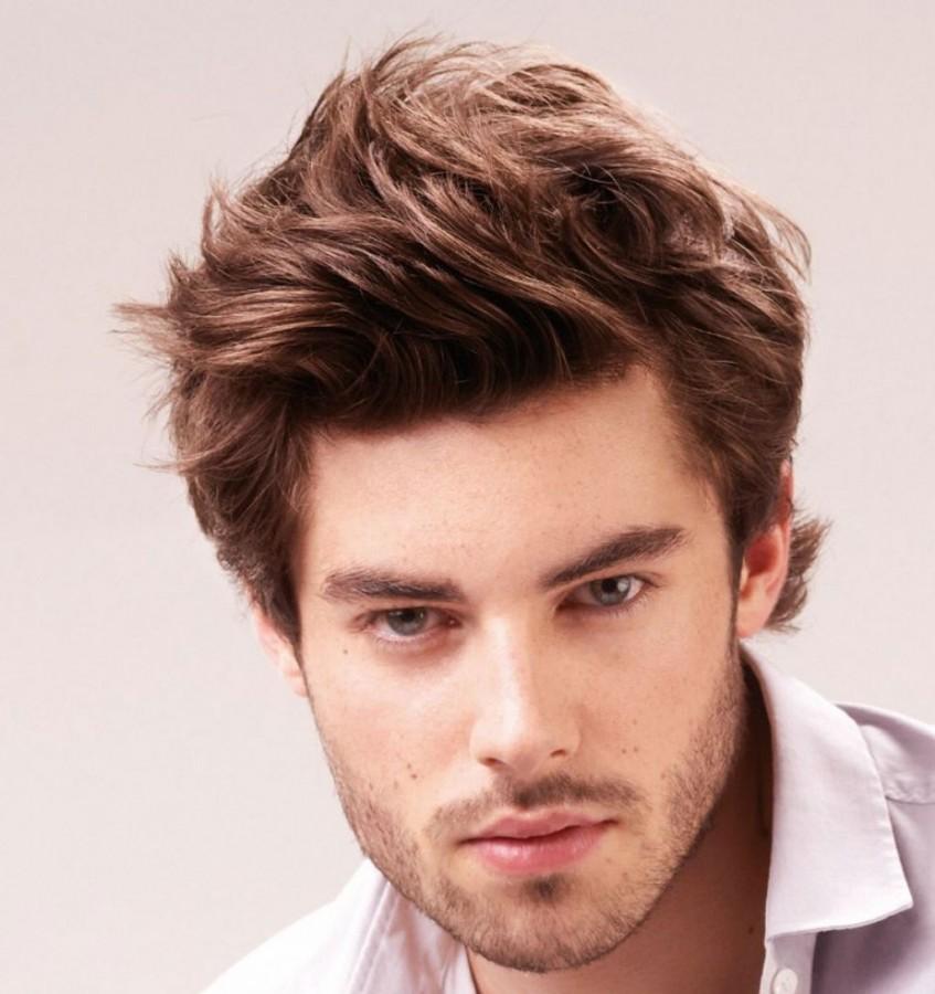 Gaya rambut medium pria