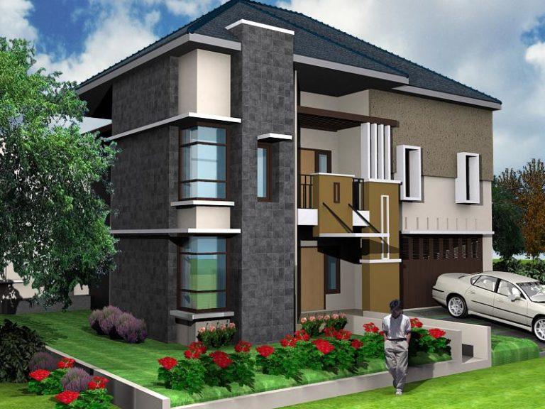 Desain Rumah Tipe 36 2 Lantai