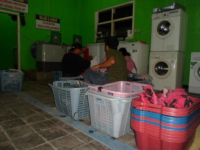 Usaha Rumahan Buka Laundry Pakaian