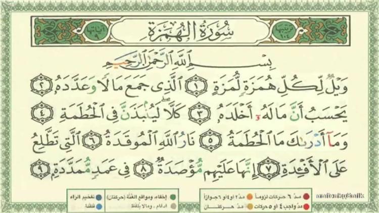 Surat Surat Pendek Al Quran Yang Mudah Dihafal