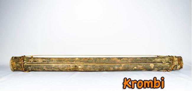 krombi alat musik tradisional papua