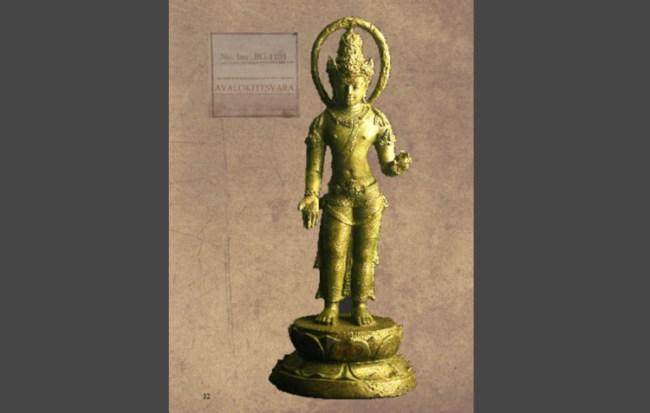 Arca Perunggu Pantheon Hindu dan Budha