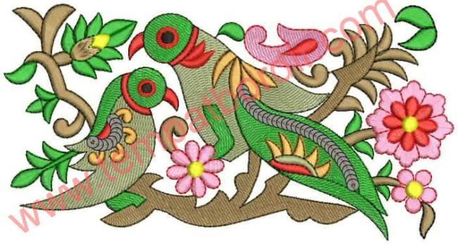 Contoh Batik Fauna Yang Mudah Digambar Contoh Motif Batik