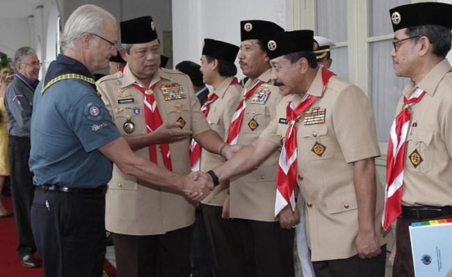 Sejarah pramuka di Indonesia