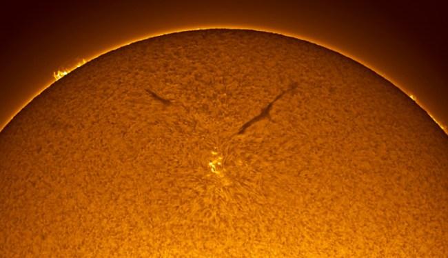 struktur matahari