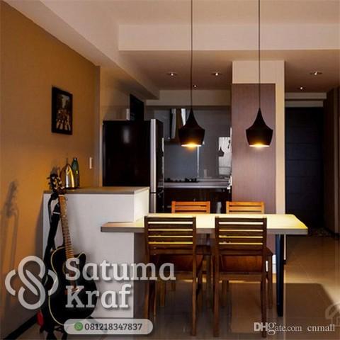 lampu gantung untuk ruang makan