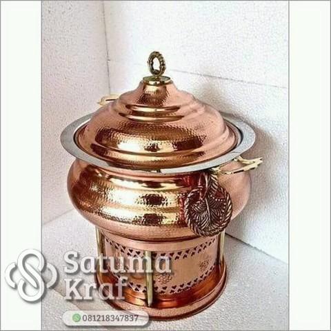 chafing dish kuningan modern klasik dan mewah