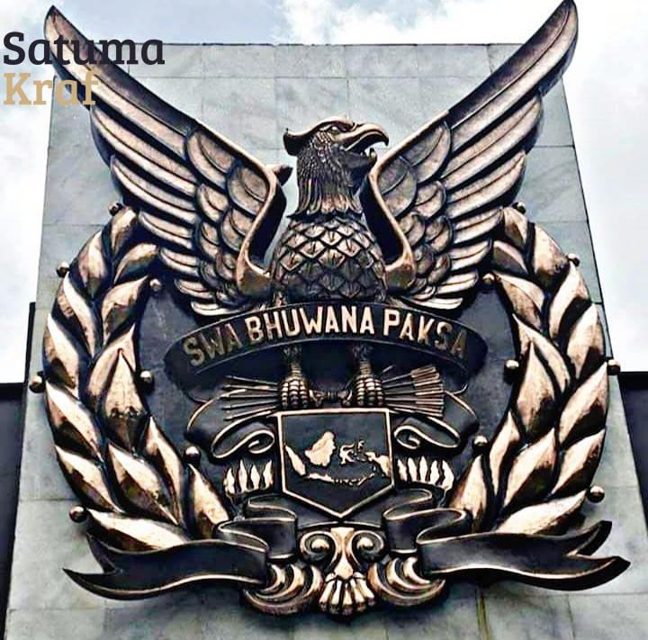 Logo TNI AU Tembaga