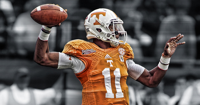 Tennessee QB Josh Dobbs - the comeback kid