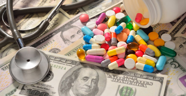 Image result for money and medicine