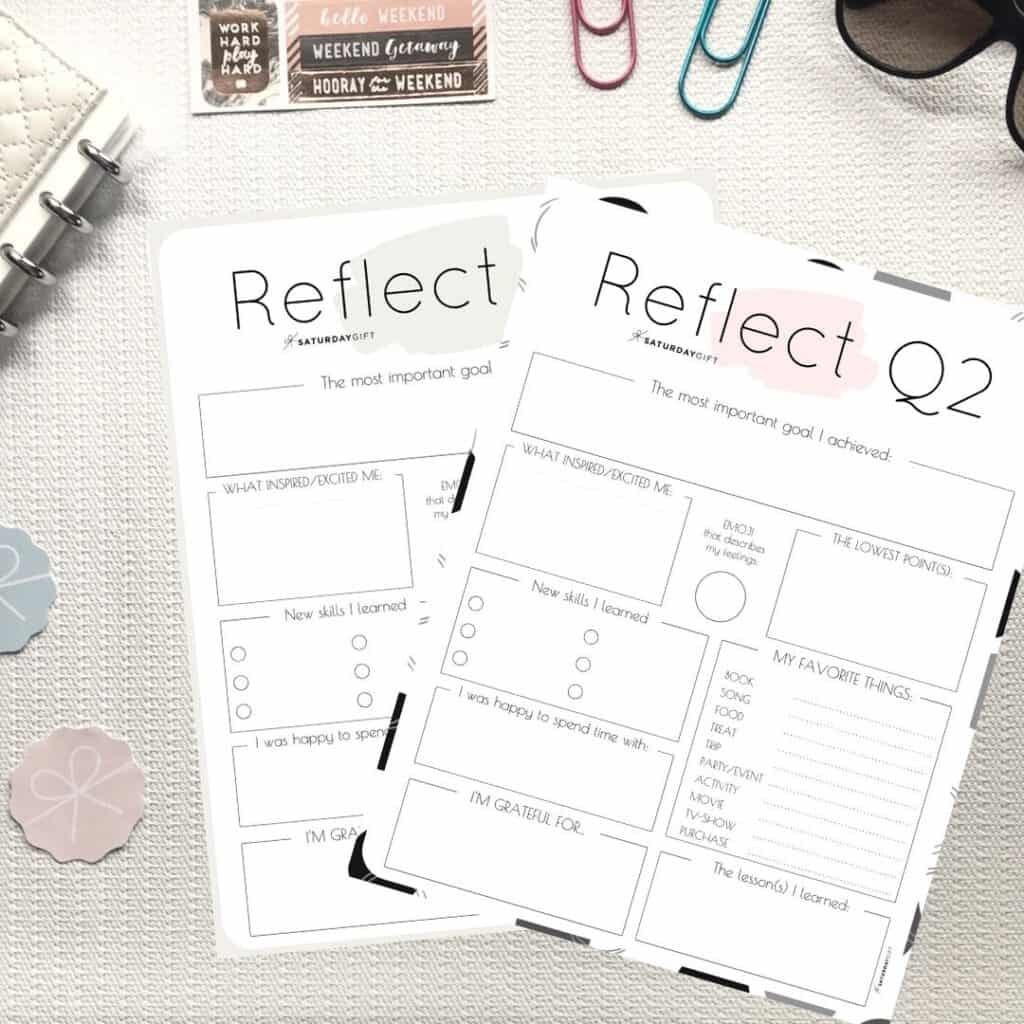 How To Review Your Life With The Q2 Quarter Two