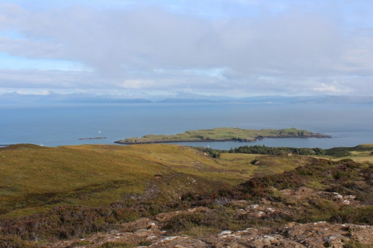 Looking back to Arisaig