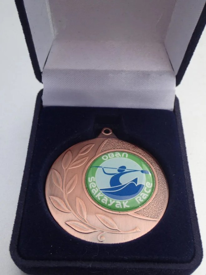 My 3rd place bronze medal