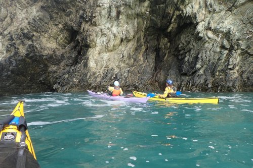 The blowhole cave we found on the way back