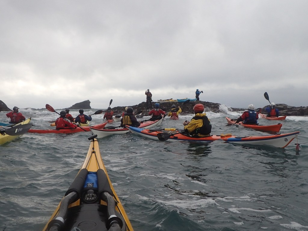 Group mayhem in the swell
