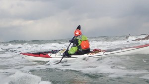 Camaes Bay - tricky conditions