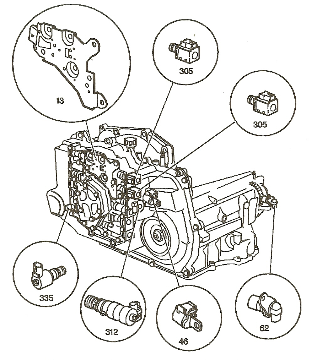 Interesting notes about the 4t45e transmission gm 4t45e internal ponents