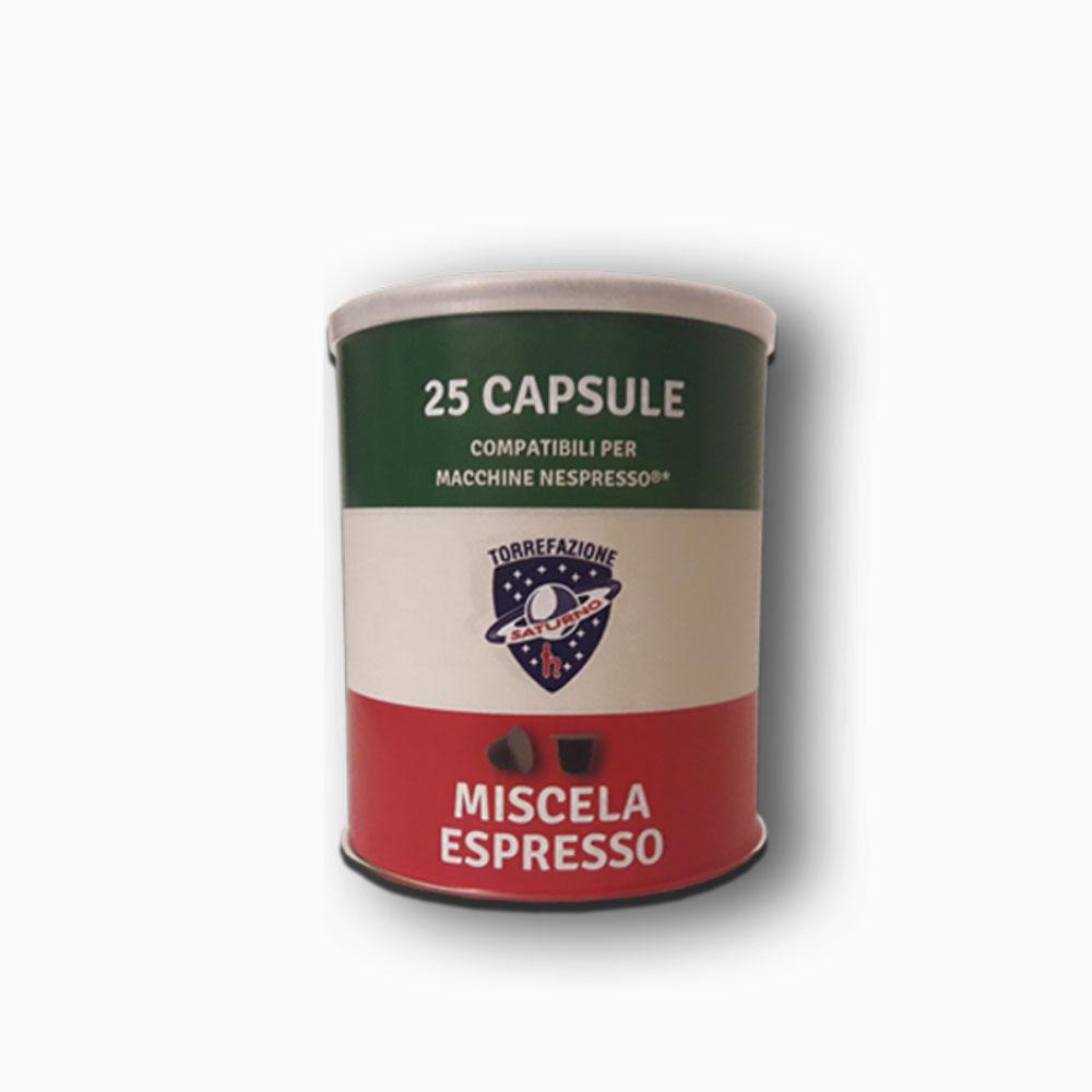 25 Capsule compatibili Nespresso