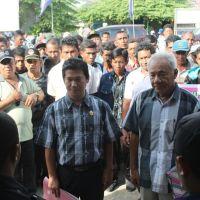Bupati Banggai Kepulauan (Drs. Lania Laosa), Resmi Mendaftar di Partai NasDem Banggai Kepulauan
