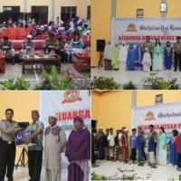 Pererat Silahturahmi, Polres Touna Buka Bersama Anak Yatim, Purnawirawan dan Wara Kauri Polri