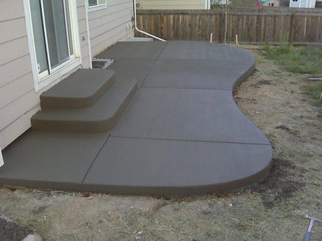 concrete patio san antonio satx