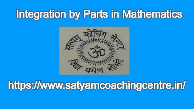 Integration by Parts in Mathematics